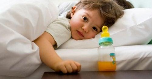 El destete nocturno depende de los padres y su decisión.