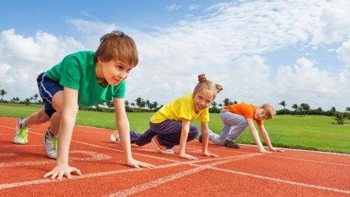 Atletismo para niños, un deporte completo