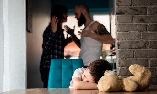 Parents se disputent