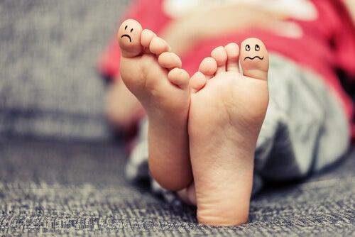El pie de atleta en niños