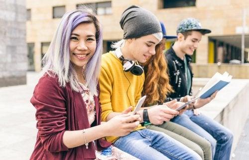 La crisis de identidad en la adolescencia.