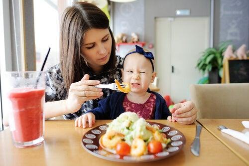 Alergias alimentarias en niños.