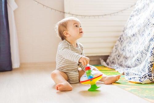 El desarrollo de la noción espacial en niños