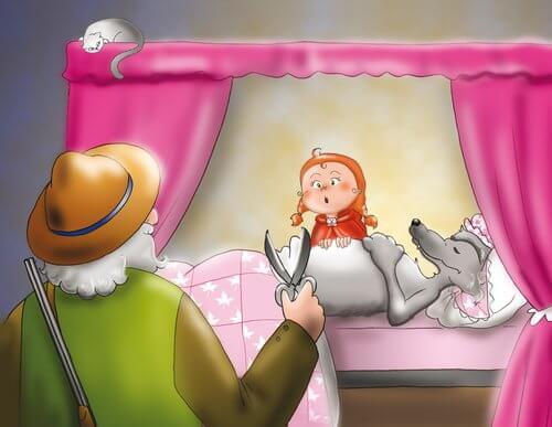 Caperucita Roja es un cuento infantil.