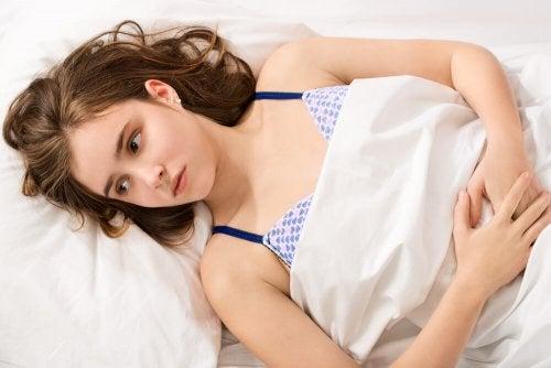Las hemorragias uterinas pueden ser causadas por diversos motivos.