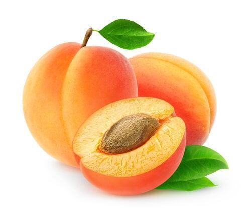 El damasco es una recomendable fruta para el embarazo.