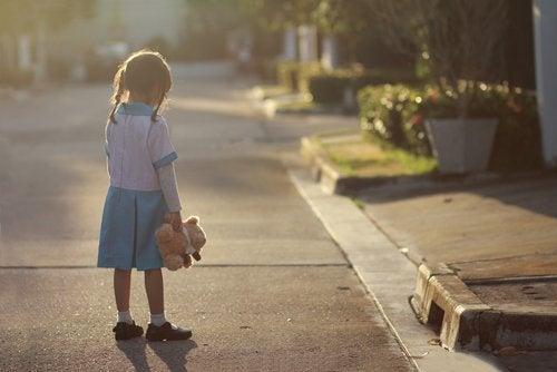 Niños con bajo estado de ánimo o con depresión.