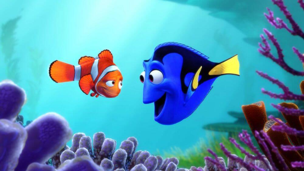 Buscando a Nemo, una de las películas para ver en familia