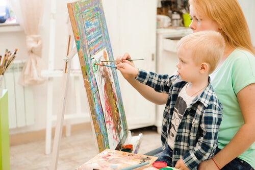 ejercicios de arteterapia para niños