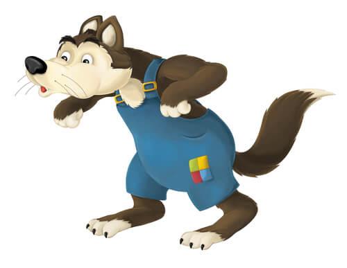 La figura del lobo en los cuentos infantiles