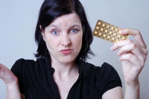 Métodos anticonceptivos que causan acné.