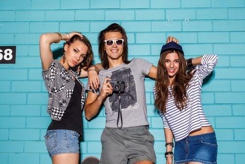La moda en la adolescencia influye en gran medida.