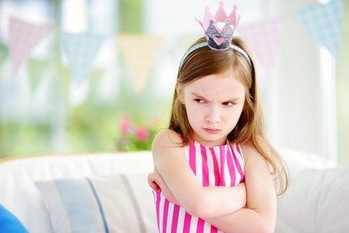 El enfado en niños es muy frecuente.