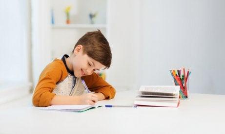 Es importante que los niños tengan su lugar de concentración.