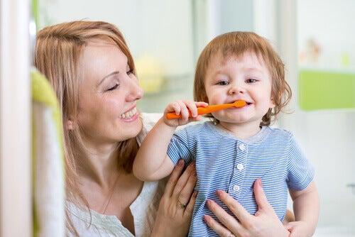 La salud bucal es importante desde los primeros años de vida.