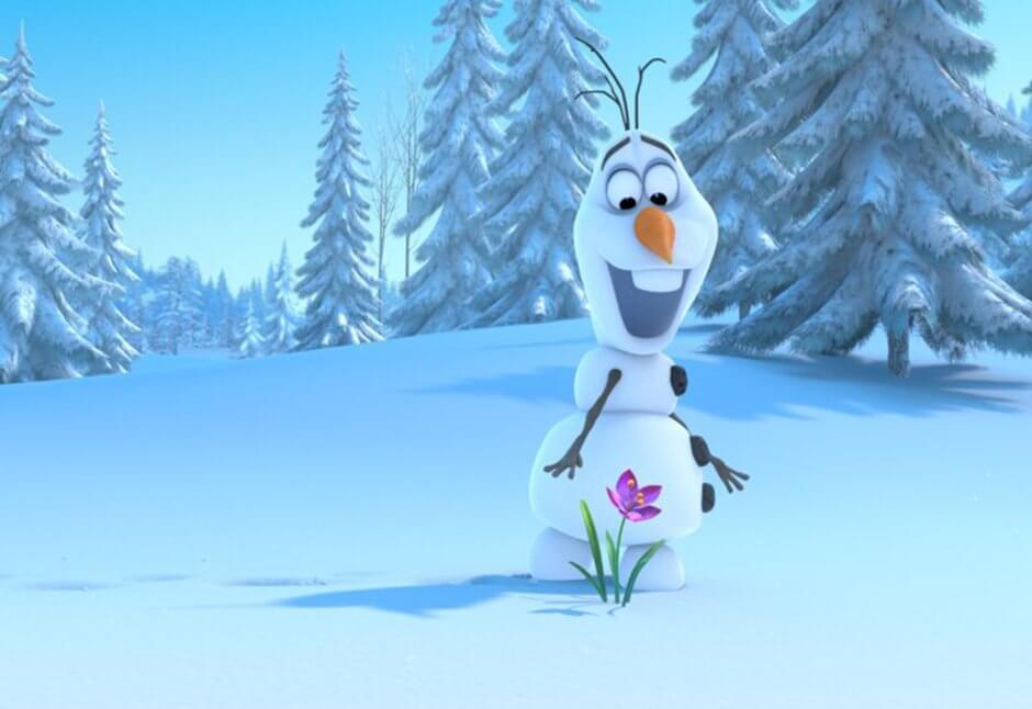 Frozen. Olaf el muñeco de nieve