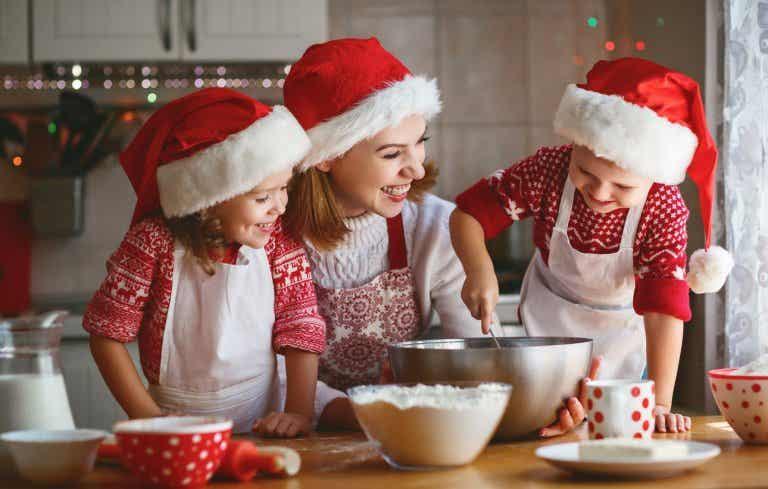 5 divertidas recetas navideñas para hacer con niños