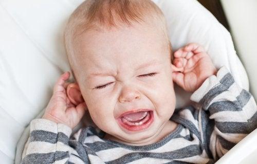 Cómo evitar la otitis en bebés