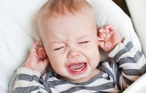 La oxiuriasis puede provocar irritabilidad en los bebés.