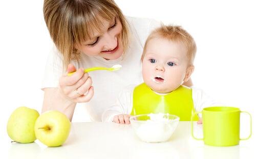 Recetas dulces para bebés de 9 a 12 meses