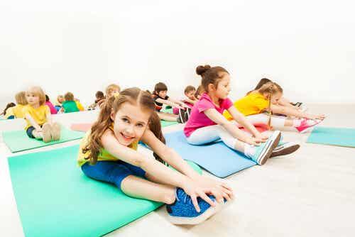 Calentamientos de educación física para niños