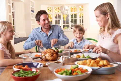 6 tips para una cena familiar en armonía
