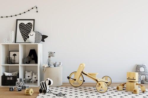 El método Montessori para decorar la habitación infantil