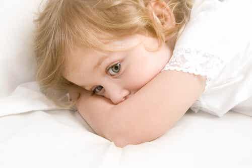 El miedo a estar solos en los niños