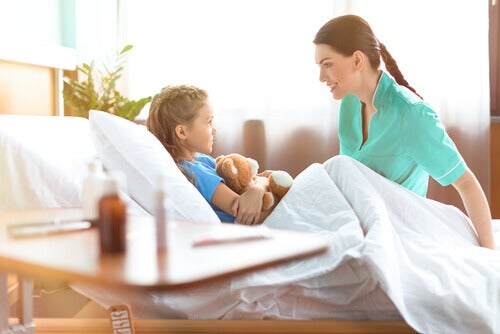 El apoyo a niños hospitalizados es fundamental para su recuperación.