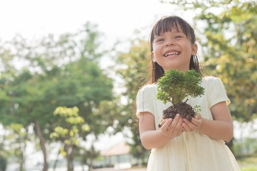 La educación ambiental para niños les permite valorar y conocer la naturaleza.