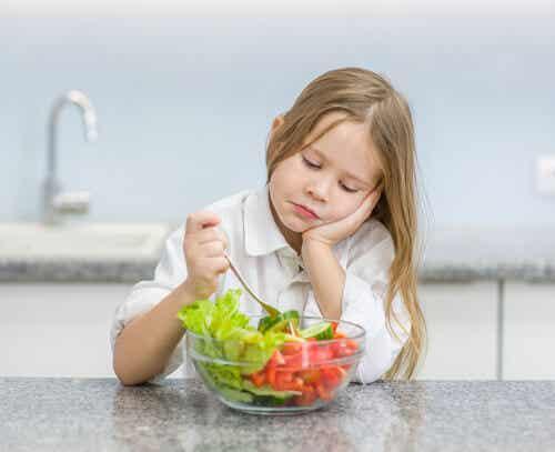 7 excusas de los niños para no comer