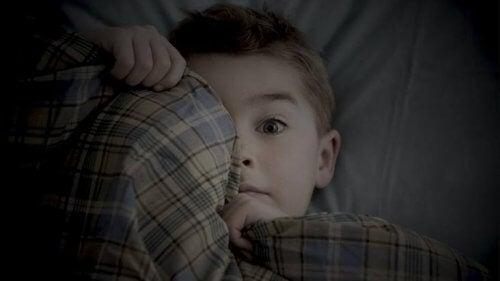 Es normal que los niños pequeños sientan miedo de estar solos.