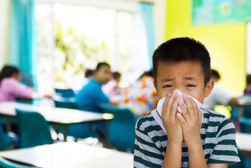 7 enfermedades contagiosas en edad escolar