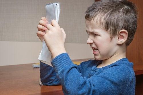 La queja en los niños es una forma de canalizar sus emociones.