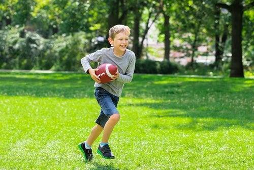 Fútbol americano para niños