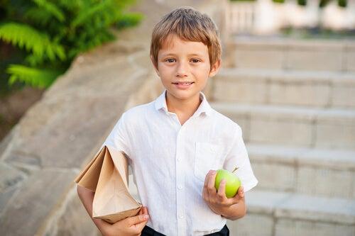 Alternativas al bocadillo para el recreo de los niños