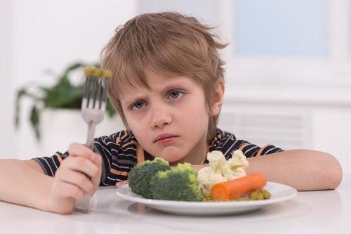Enseñar a comer variado es una gran alternativa siempre que el niño no presente excusas para no comer.