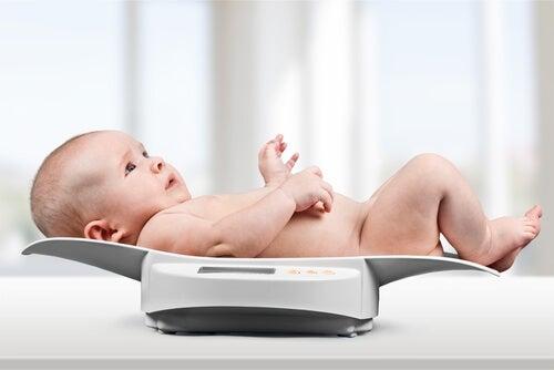 Los percentiles del bebé según su edad