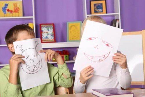 Las etapas del dibujo infantil