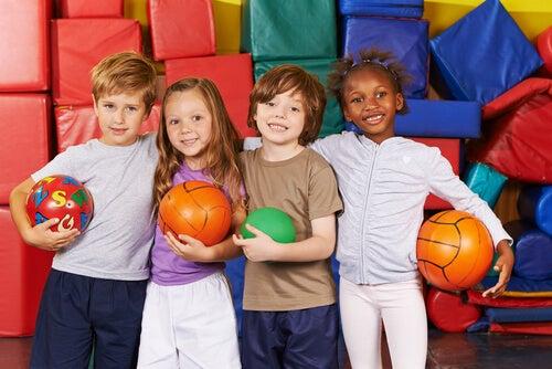 Juegos de educación física para niños