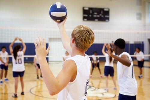 Voleibol para niños