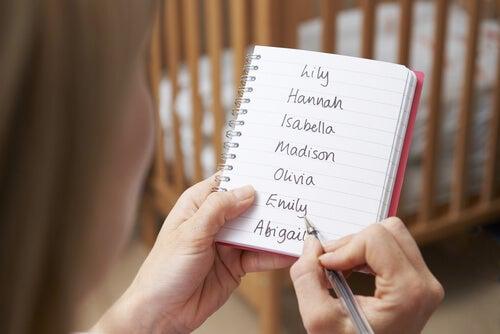 Consejos para elegir el nombre de tu hijo
