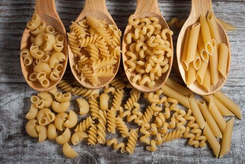 Existen diferentes tipos de pasta dependiendo de su textura.