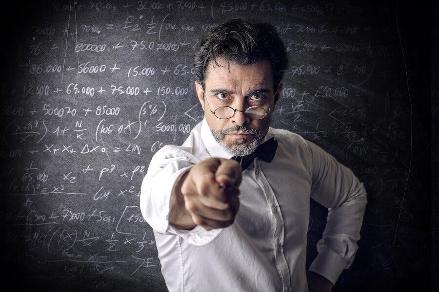 ¿Cuáles son las características de un mal profesor?