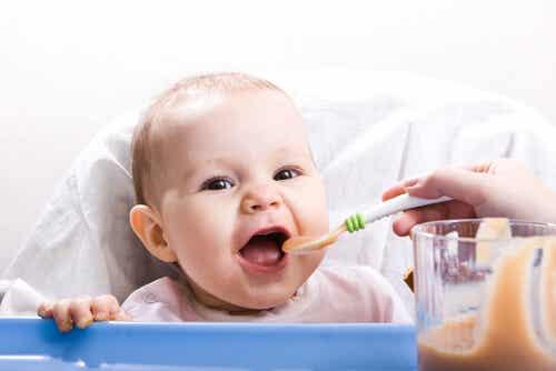 Recetas saludables para bebés de 9 a 12 meses: Nuevas texturas
