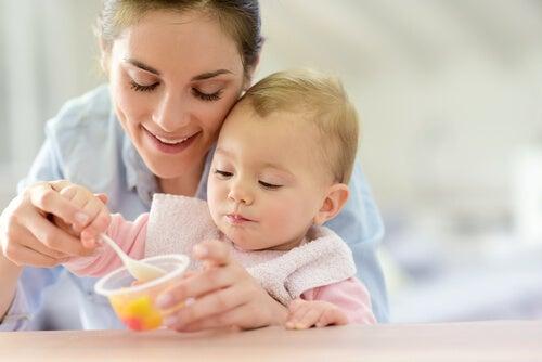 Recetas dulces para bebés de 12 a 24 meses