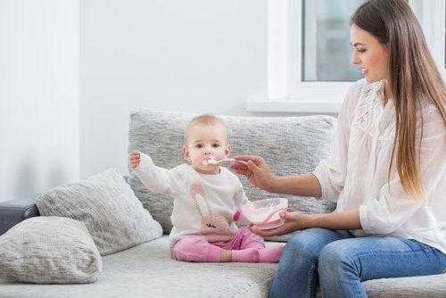 Recetas dulces para bebés de 6 a 9 meses