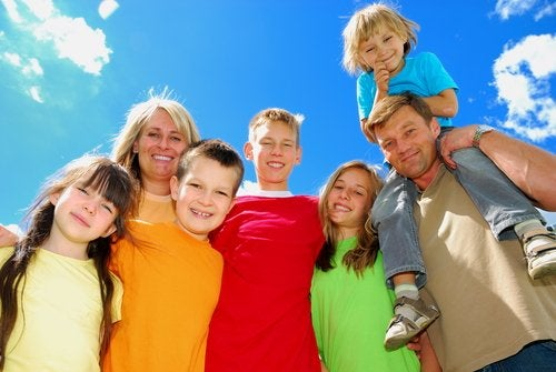 ¿Cómo se organizan las familias numerosas?