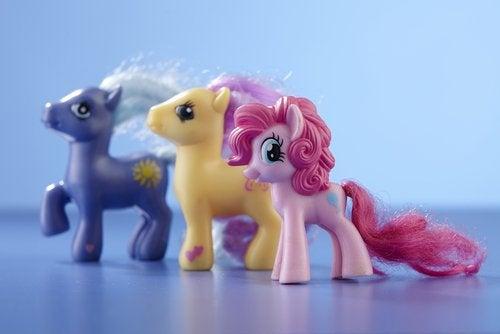 Los juguetes de My Little Pony marcaron el inicio de esta exitosa serie.