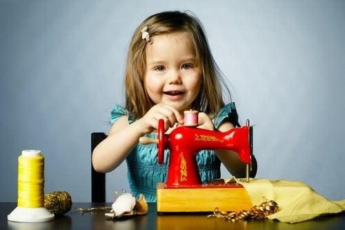 Talleres de costura para niños